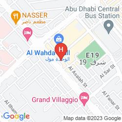 Mapa AL RAWDA ARJAAN BY ROTANA