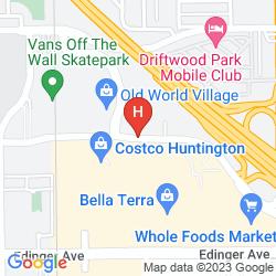 Mapa HUNTINGTON BEACH HOTEL