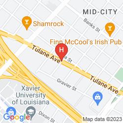 Mapa MIDTOWN NEW ORLEANS