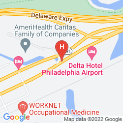 Mapa RENAISSANCE PHILADELPHIA AIRPORT