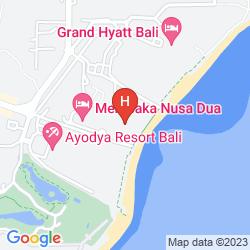 Mapa THE WESTIN RESORT NUSA DUA