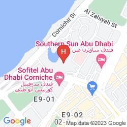 Mapa SHERATON ABU DHABI HOTEL & RESORT