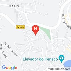 Mapa APARTAMENTOS TURISTICOS ALBUFEIRA JARDIM