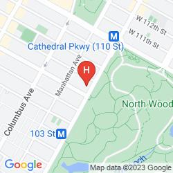 Mapa PARK WEST