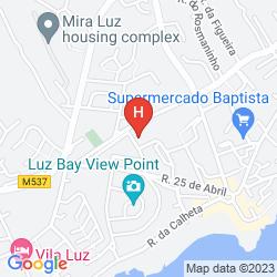 Mapa ESTRELA DA LUZ