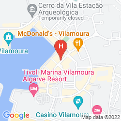 Mapa LUNA APARTHOTEL OLYMPUS