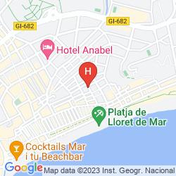 Mapa MAREMAGNUM LLORET