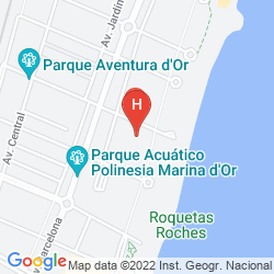 Mapa Marina D'or Hotel 3*