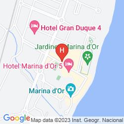 Mapa MARINA D'OR PLAYA
