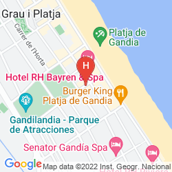 Mapa RH GIJON GANDIA