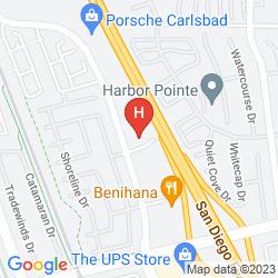 Mapa LA QUINTA INN & SUITES SAN DIEGO CARLSBAD