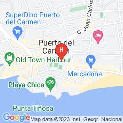 Mapa APARTAMENTOS COSTA VOLCAN