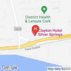 Mapa CLAYTON HOTEL SILVER SPRINGS