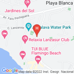 Mapa IBEROSTAR LANZAROTE PARK