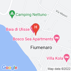 Mapa BAIA DI ULISSE WELLNESS & SPA