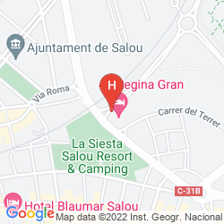 Mapa REGINA GRAN HOTEL