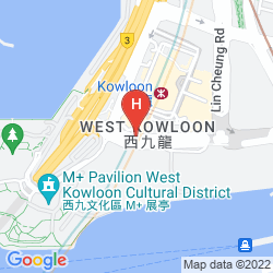 Mapa W HONG KONG