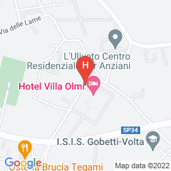 Mapa VILLA OLMI FIRENZE