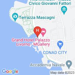 Mapa GRAND HOTEL PALAZZO LIVORNO MGALLERY BY SOFITEL