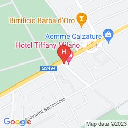 Mapa TIFFANY MILANO
