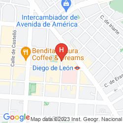 Mapa EL MADROÑO