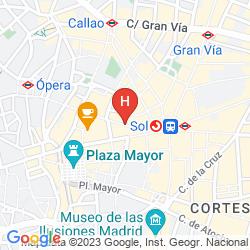 Mapa HOSTAL ARESOL