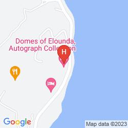 Mapa DOMES OF ELOUNDA, AUTOGRAPH COLLECTION