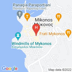 Mapa LETO APARTMENTS