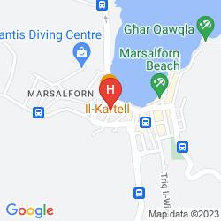 Mapa IL-PLAJJA