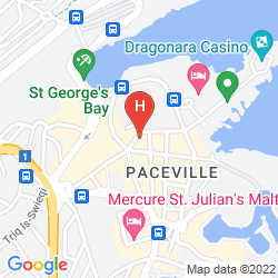 Mapa THE ST. GEORGE'S PARK