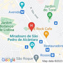 Mapa INN FASHION RESIDENCE