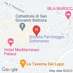 Mapa HOTEL MONTREAL