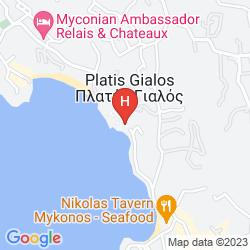 Mapa VILLA NIREAS
