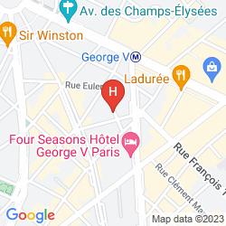Mapa FRANCOIS 1ER