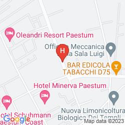 Mapa GRAND HOTEL PAESTUM