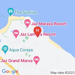 Mapa RESTA REEF RESORT