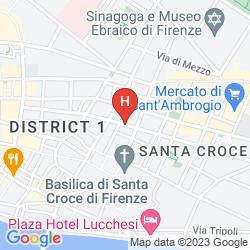 Mapa RELAIS SANTA CROCE