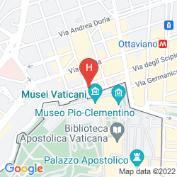 Mapa ALIMANDI VATICANO