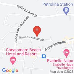 Mapa VASSOS NISSI PLAGE