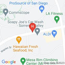Mapa STAYBRIDGE SUITES SAN DIEGO SORRENTO MESA