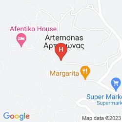 Mapa ARTEMON