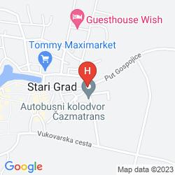 Mapa ARKADA