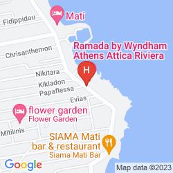 Mapa RAMADA ATTICA RIVIERA