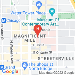 Mapa HAMPTON INN CHICAGO DOWNTOWN/MAGNIFICENT MILE