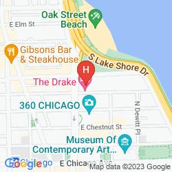 Mapa THE DRAKE, A HILTON HOTEL