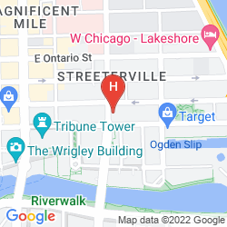 Mapa EMBASSY SUITES BY HILTON CHICAGO DOWNTOWN MAGNIFICENT MILE