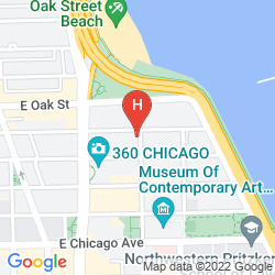 Mapa HILTON CHICAGO/MAGNIFICENT MILE SUITES