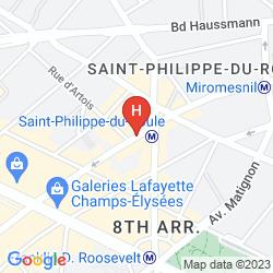 Mapa ROCHESTER CHAMPS ELYSEES