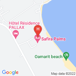 Mapa VINCCI SAFIRA PALMS
