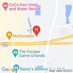 Mapa HAWTHORN SUITES BY WYNDHAM ORLANDO INTERNATIONAL DRIVE